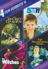 4 Film Favorites:Children's Fantasy - (Region 1 Import DVD)
