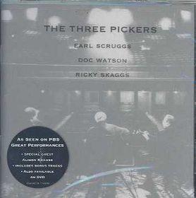 Doc Earl Scruggs Watson & Ricky Skaggs - The Three Pickers (CD)