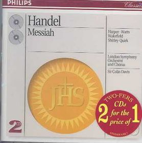London Symphony Orchestra - Messiah - Complete (CD)