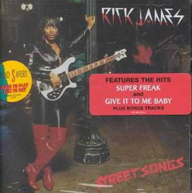 Rick James - Street Songs (CD)