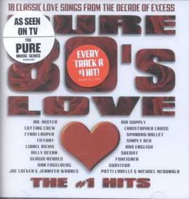 Pure 80s Love:the Number 1 Hits - (Import CD)