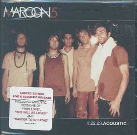 Maroon 5 - Accoustic (CD)