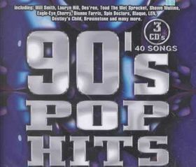 90's Pop Hits - Various Artists (CD)