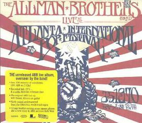 Allman Brother Band - Live At The Atlanta Pop Festival (CD)