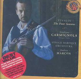 Carmignola Giuliano / Venice Baroque Orc - Four Seasons - Expanded Edition (CD)