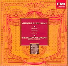 Various Artists - Gilbert/Sullivan:Trial By Jury;H.M.S.Pinafore Etc. - (EMI Import CD)