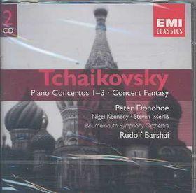 Tchaikovsky- P Conci 1-3 C Fan - Piano Concertos Nos.1-3 (CD)