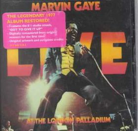 Marvin Gaye - Live At The London Palladium (CD)