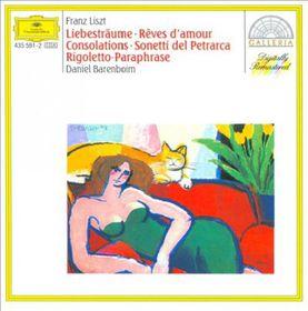 Daniel Barenboim - Rigoletto - Paraphrase, Liebestraume Op. 62 Nos. 1-3, Consolations Nos. 1-6, Sonetti Del Petrarca Nos. 47, 104 & 123 (CD)