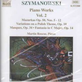 Szymanowski - Piano Music Vol.2 (CD)