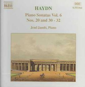 Jeno Jando - Piano Sonatas Vol. 6 - Nos. 20 & 30 - 32 (CD)