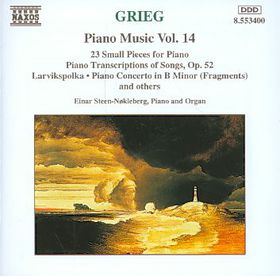 Einar Steen-Nokleberg - Piano Music Vol. 14 (CD)