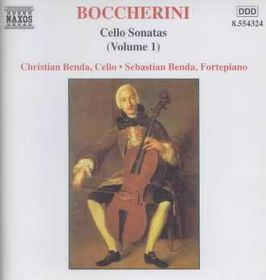 Benda, Christian / Benda, Sebastian - Cello Sonatas - Vol.1 (CD)