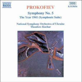 National Symphony Orchestra Of Ukraine - Symphony No. 5 / The Year 1941 (CD)