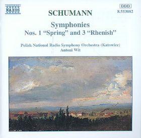 Polish National Radio Symphony Orchestra - Symphonies Nos. 1 Spring & 3 Rhenish (CD)