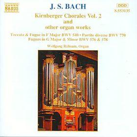 Wolfgang Rubsam - Kirnberger Chorales Vol. 2 (CD)
