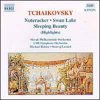 Tchaikovsky:Nutcracker/Swan Lake - (Import CD)