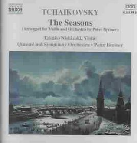 Tchaikovsky - Seasons;Nishizaki,Breiner (CD)