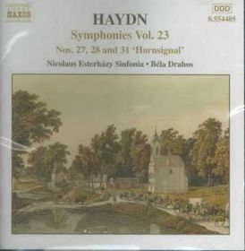 Symphonies Nos.27, 28 & 31 - Various Artists (CD)