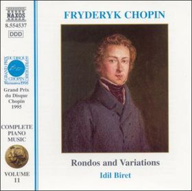 Biret, Idil / Sauer, Martin - Chopin Vol.11 - Rondos & Variations (CD)