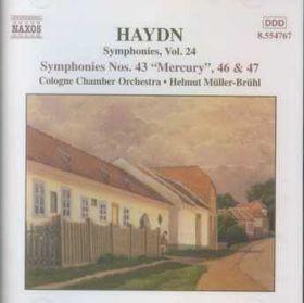 Haydn:Syms. Vol. 24-Sym. 43 Mercury - (Import CD)