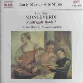 Monteverdi - Madrigals, Book 3;Longhini (CD)