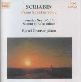 Scriabin - Piano Sonatas Vol.2 Glemser (CD)