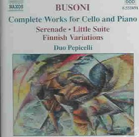 Busoni - Complete Wrks For Cello & Piano;Pepicell (CD)