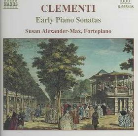 Clementi - Six Early Piano Sonatas;Alexander (CD)