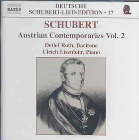 Schubert:Austrian Contemporaries Vol2 - (Import CD)