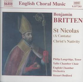 Britten - St. Nicholas;Steuart Bedford (CD)