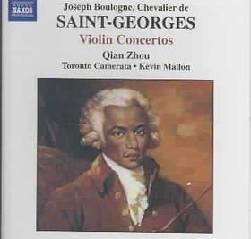 Saint-Georges - Violin Concertos;Zhou/Mallon (CD)