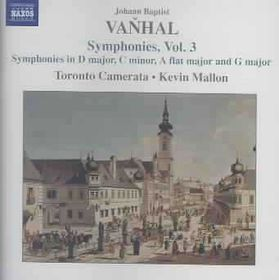 Vanhal:Symphonies Vol 3 - (Import CD)