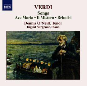 Verdi - Songs / Ave Maria / Mistero / Brindisi (CD)