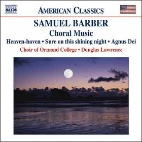 Barber - Choral Music (CD)