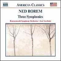 Ned Rorem - Symphony 1-3;Serebrie (CD)