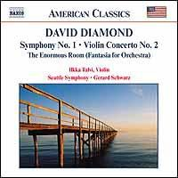 Diamond David - Symphony No.1;Gerard Schwarz (CD)