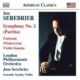 Serebrier - Symphony No.2 Fantasia For String Violi (CD)