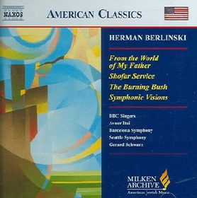 Berlinski Herman - From The World Of My Father (CD)