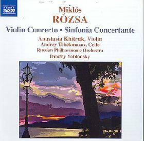 Rozsa : Vln Cto/sinf Concertante - Violin Concerto / Sinfonia Concertante (CD)