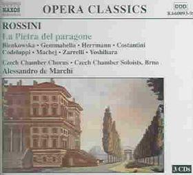 Rossini - La Pietra Del Paragone;De Marchi (CD)