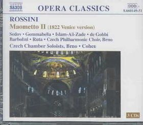 Czech Chbr Soloists/Brno Co - Rossini:Maometto Ii (CD)