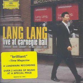 Lang Lang - Live At Carnegie Hall (CD)