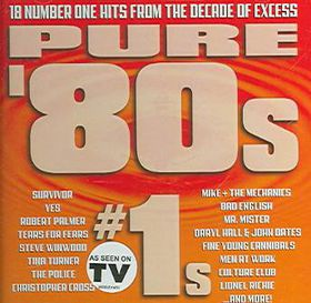 Pure 80's:Number 1's - (Import CD)