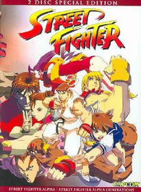 Street Fighter Alpha - (Region 1 Import DVD)