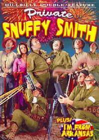 Hillbilly Double Feature: Private Snuffy Smith/I'm from Arkansas - (Region 1 Import DVD)