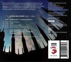 Bruckner: Symphony No 7 - Symphony No.7 (CD)