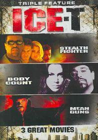 Ice T Triple Feature - (Region 1 Import DVD)