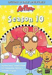 Arthur - Season 10 - (Region 1 Import DVD)