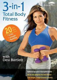 3 in 1 Total Body Fitness with Desi - (Region 1 Import DVD)
